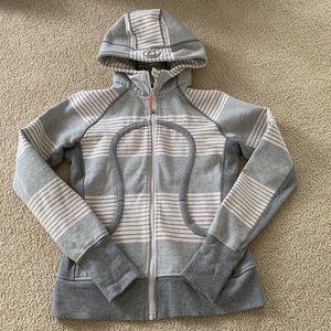 Lululemon women's scuba hoodie size 8